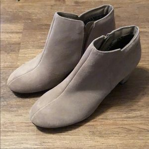 Hush Puppies Faux Suede Booties